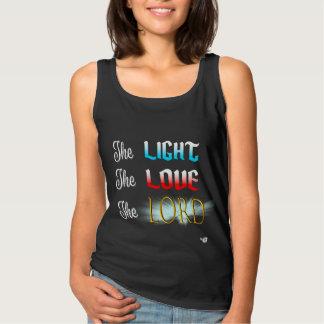 Débardeur La lumière, amour, SEIGNEUR