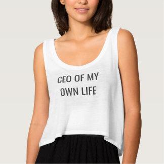 Débardeur Le tee-shirt CEO of my own life