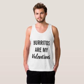 Débardeur Les Burritos sont mes Valentines