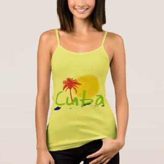 Débardeur les chemises de tropix du Cuba et sue