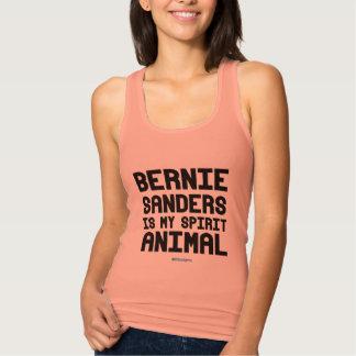 Débardeur Les ponceuses de Bernie est mon animal d'esprit