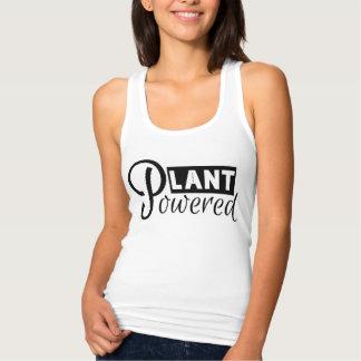 Débardeur Réservoir actionné par plante
