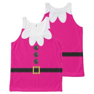Débardeur rose au néon de nouveauté d'Elf de Noël