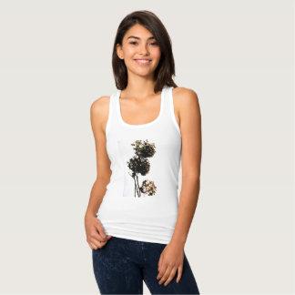 """Débardeur t.shirt """"la belle fleur"""""""