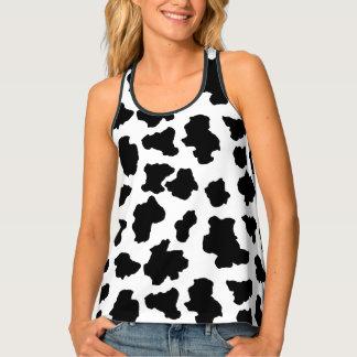 Débardeur Taches repérées d'animal du Holstein de
