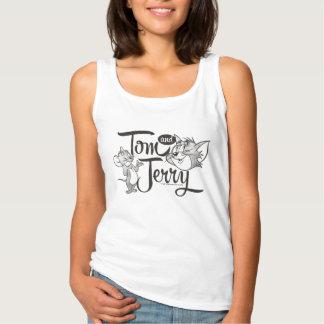 Débardeur Tom et Jerry | Tom et Jerry semblant doux