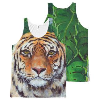 Débardeur Tout-imprimé Bagheera le réservoir d'impression de tigre