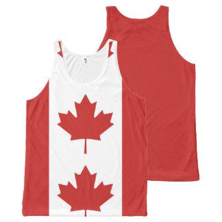 Débardeur Tout-imprimé Drapeau du Canada - le Drapeau du Canada