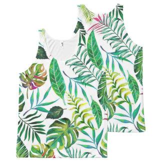 Débardeur Tout-imprimé Flora tropicale