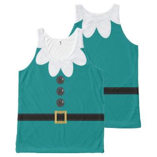 Débardeur turquoise de nouveauté d'Elf de Noël en