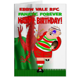 D'Ebbw Vale de RFC de fanatique carte