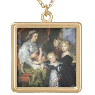 Deborah Kip et ses enfants Collier Plaqué Or