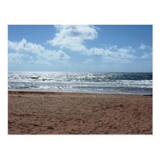 Début de la matinée de plage de Mayaro, carte