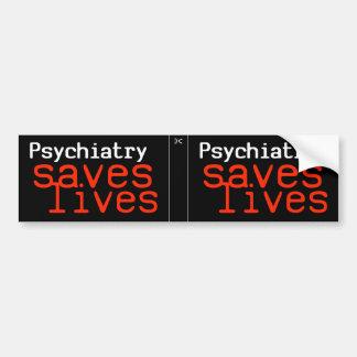 Décalque dramatique de Pro-Psychiatrie (2 en 1) Autocollant Pour Voiture