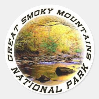 Décalques ou autocollants de Great Smoky Mountains