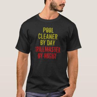 Décapant de piscine de Grillmaster T-shirt