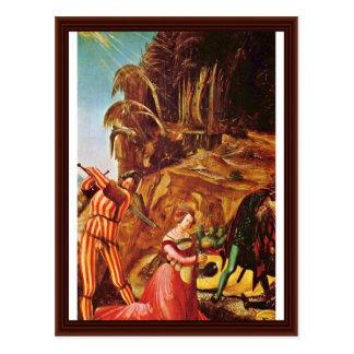 Décapitation de St Catherine par Altdorfer, Albrec Cartes Postales