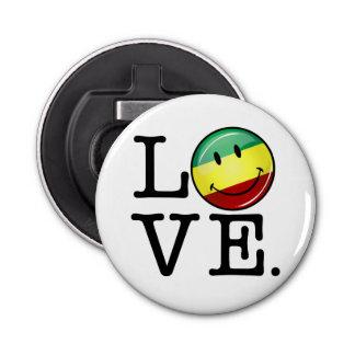 Décapsuleur Drapeau heureux de Rasta d'amour de Rastafarian