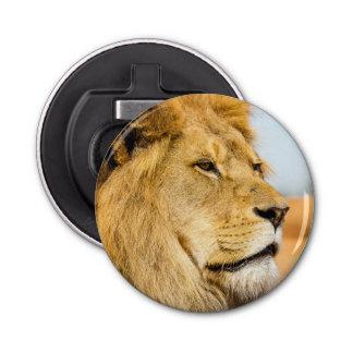 Décapsuleur Grand lion regardant loin