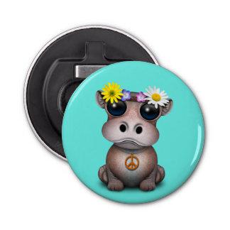 Décapsuleur Hippie mignonne d'hippopotame de bébé