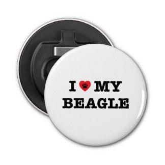 Décapsuleur I coeur mon beagle