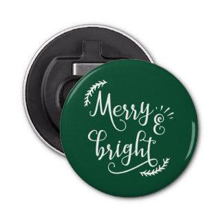 Décapsuleur joyeuses et lumineuses vacances de Noël