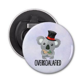 Décapsuleur Koala mignon de calembour d'Overkoalafied dans le