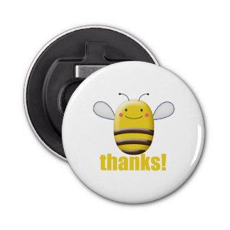 Décapsuleur Le bonbon gaffent l'abeille dit des mercis