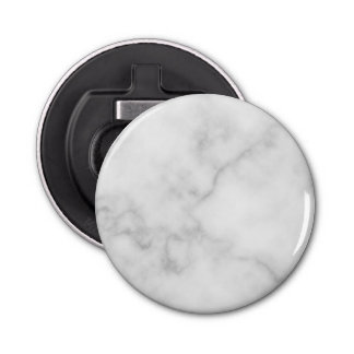 Décapsuleur Motif de marbre blanc élégant chic