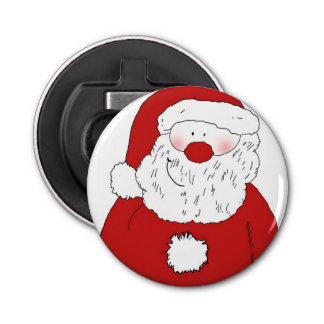 Décapsuleur Père Noël de rougissement mignon