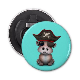 Décapsuleur Pirate mignon d'hippopotame de bébé