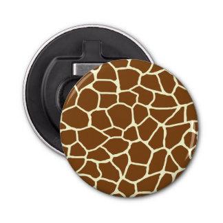 Décapsuleur Poster de animal sauvage de motif de girafe