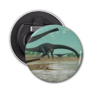 Décapsuleur Troupeau de dinosaures de Diplodocus - 3D rendent