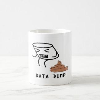 Décharge de données mug