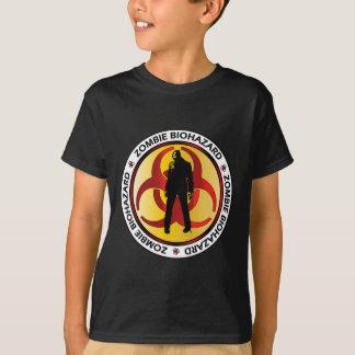 Déchets de Biohazard de zombi T-shirt