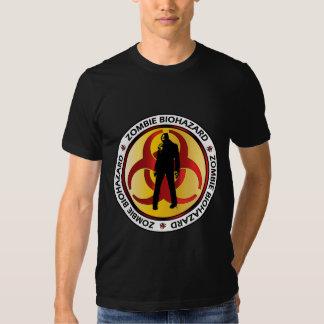 Déchets de Biohazard de zombi T-shirts