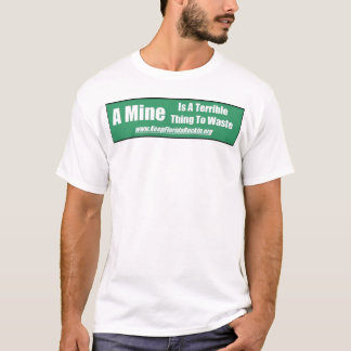 Déchets de la mine 2 de KFR T-shirt