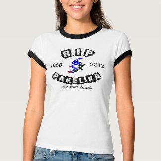 DÉCHIREZ T-shirt rouge/blanc/bleu de sonnerie de