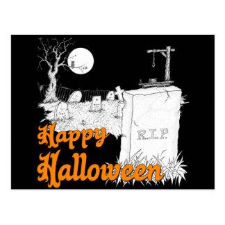 DÉCHIRURE de Halloween Carte Postale