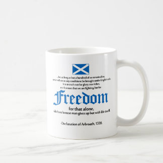 déclaration d'arbroath mug