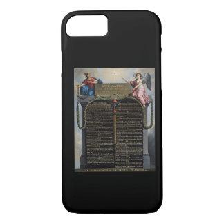 Déclaration des droites de l'homme et du citoyen coque iPhone 7