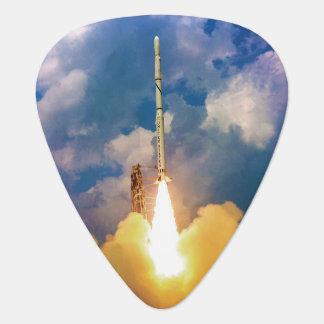 Décollage de lancement de Rocket de scout de la Médiators