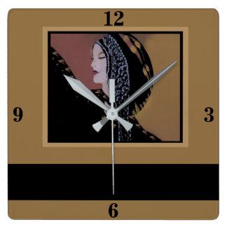 Décor-Chameau/noir de maison de Madame horloge