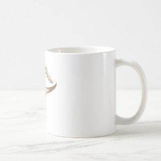 Décor de désert mug blanc