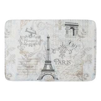 Décor de Français de tapis de bain de conception