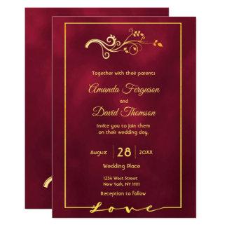 Décor d'or de faux de Bourgogne de carte de