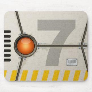 Décor sci-fi tapis de souris