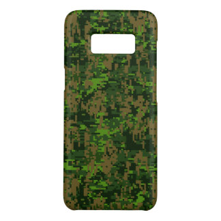 Décor vert de camouflage de Digitals de région Coque Case-Mate Samsung Galaxy S8