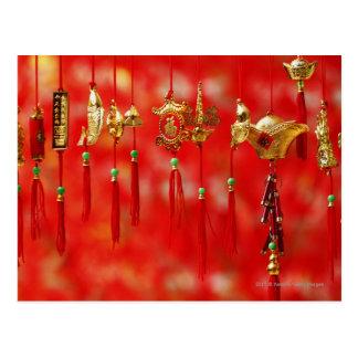 Décoration chinoise de nouvelle année carte postale