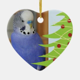 Décoration de Noël de bip de perruche